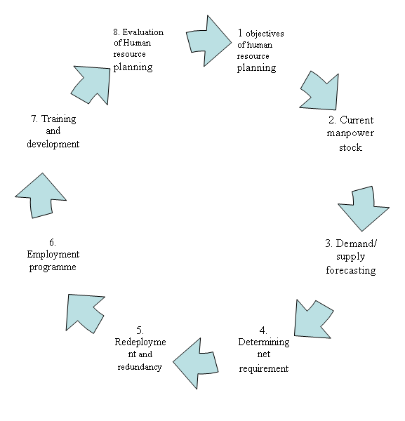 process of hr planning